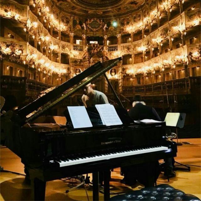 Francesco Turrisi Steingraeber Piano Recital Bayreuth