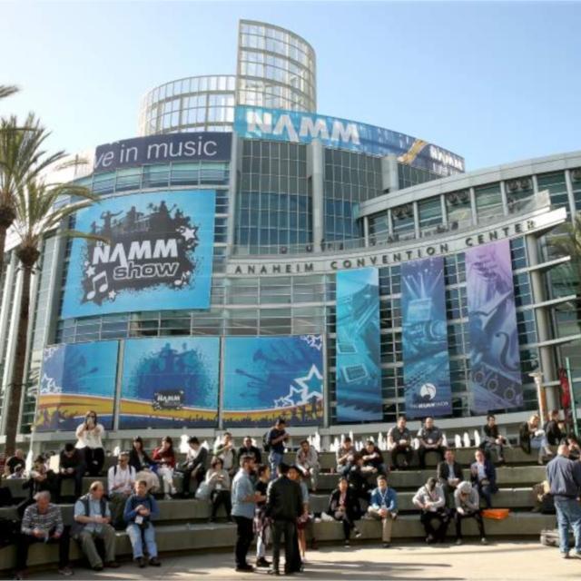 NAMM Show Anaheim