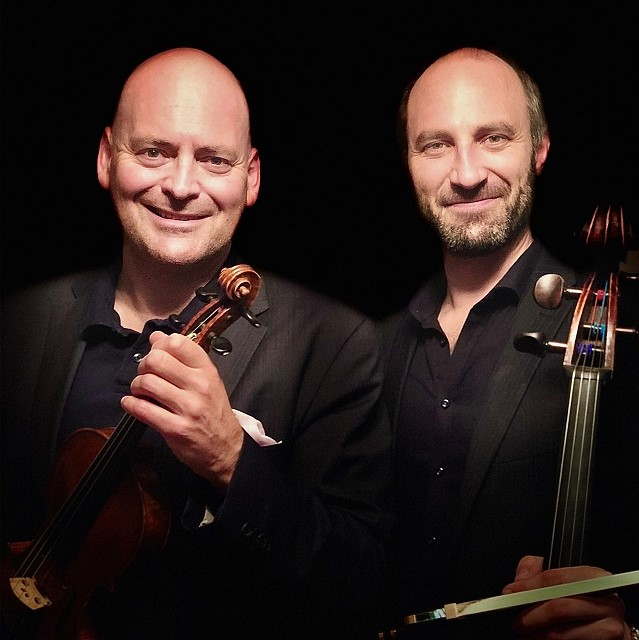 Florian Meierott und Tobias van der Pals