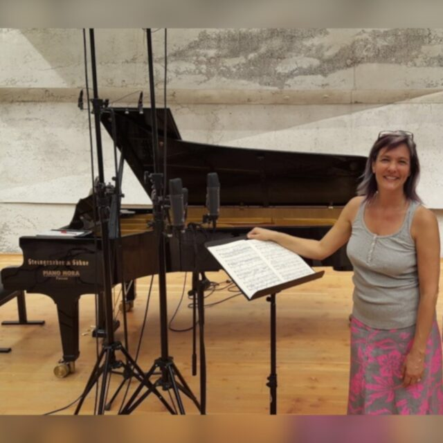 Marlis Petersen Steingraeber Piano