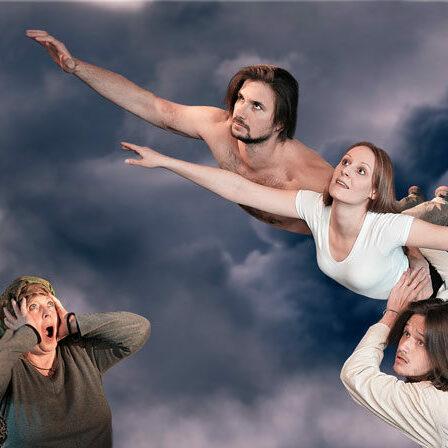 Flieg, Holländer, Flieg! frei nach Richard Wagner