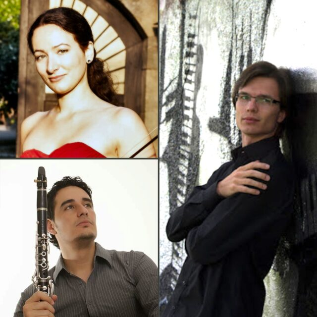 """Orient Express"" for violin, clarinet and piano - Martina Trumpp, Jorge M. Uribe and Bohumir Stehlik"