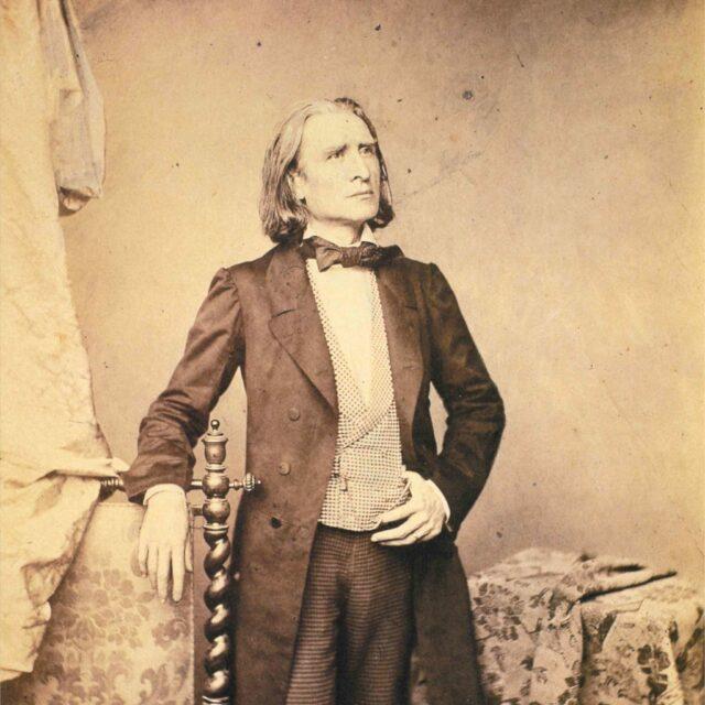 Franz Liszt Photographs